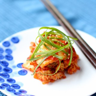 Vegan & Gluten-Free Kimchi - Get pumped because Vegan & Gluten-Free kimchi tastes just as awesome and funky as traditional kimchi without any of the seafood or gluten. Now everyone can enjoy! SO YUM! kimchichick.com