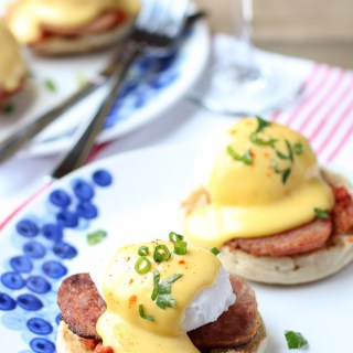 Korean Eggs Benedict