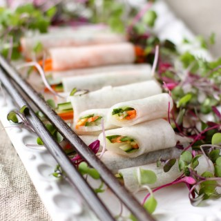 Serve these refreshing, tangy, and crunchy Korean white radish wraps with fried fish or grilled meats for a cool, cleansing bite |www.kimchichick.com