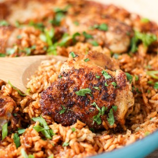 Easy One-Pot Chicken and Rice
