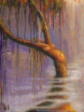 """""""Once Upon A Time,"""" Original Painting of a tree woman in pastel over watercolor by Kim Novak. Copyright 2014 Kim Novak. All rights reserved."""