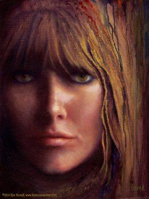 Self Portrait, Original oil painting by Kim Novak. Copyright 2014 Kim Novak. All rights reserved.