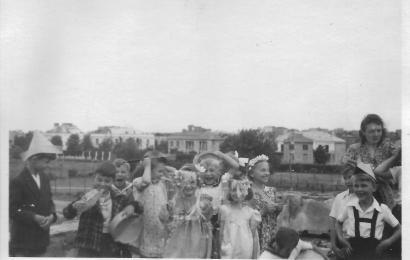 Archiwum Prezydenta RP widok na ul. Szarotki