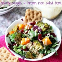 Copycat Starbucks Hearty Veggie and Brown Rice Salad Bowl