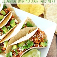 Clean Eating Mexican Taco Meat