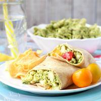 Super Simple Hummus Chicken Salad