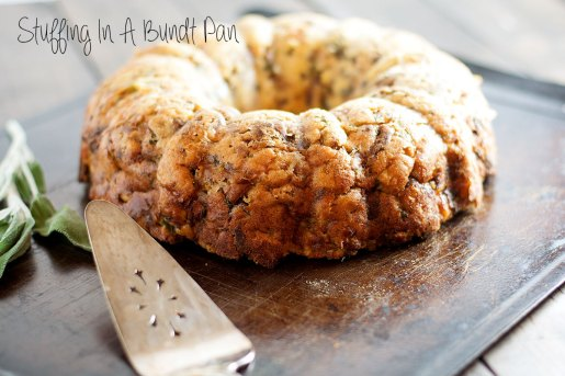 Stuffing In A Bundt Pan