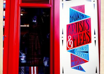 Artists & Fleas at Chelsea Market