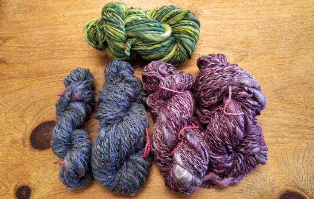 Spinning yarn for Spinzilla 2015