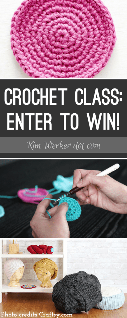 Enter to win my new online class, Crochet in the Round: Basics & Beyond!