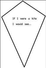 If i were a kite writing