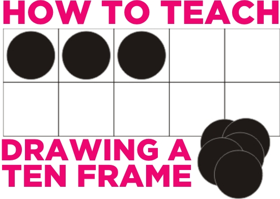 How to Draw a Ten Frame - Tool for Beginning Number Sense