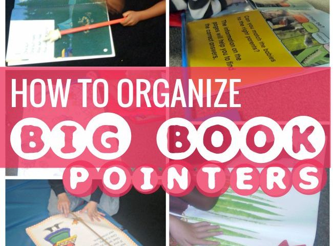 How to Organize Big Book Pointers