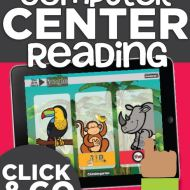 Computer Center Reading Made Simple {Common Core}