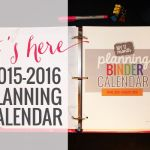 Printable Calendar 2015-2016 Calendar Template