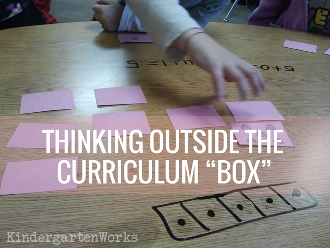 ditch the kindergarten math curriculum