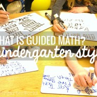 Guided Math in Kindergarten: Mission Possible
