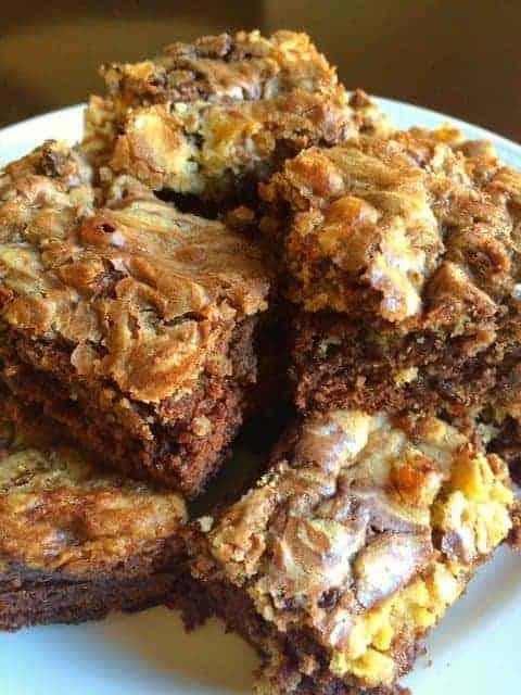 Chocolate Chip Brookies (Brownies + Cookies)