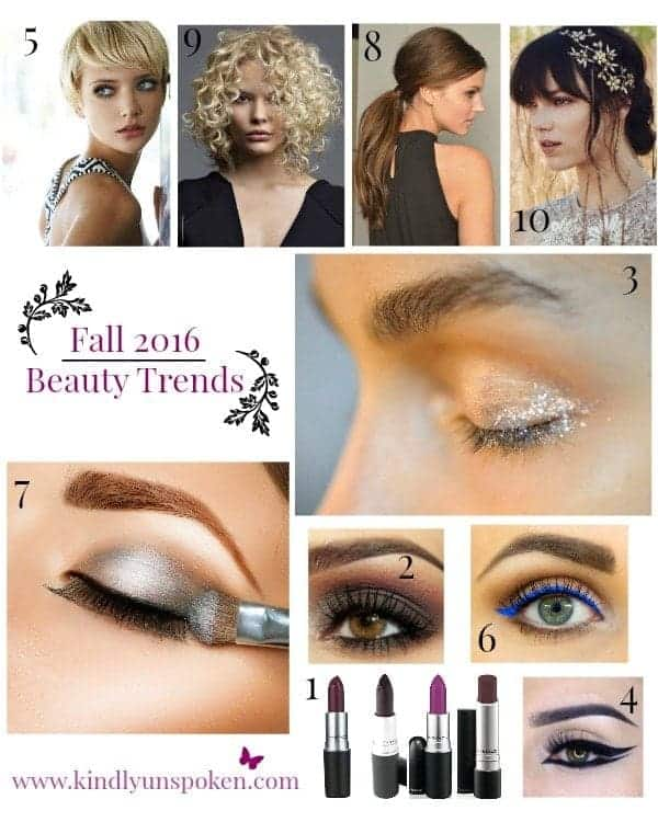 Gorgeous Fall Beauty Trends 2016