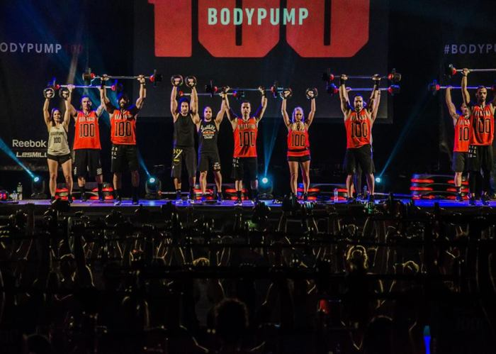 bodypump 100 out