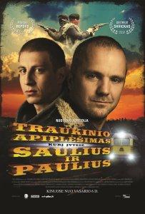 Traukinio apiplėšimas, kurį įvykdė Saulius ir Paulius