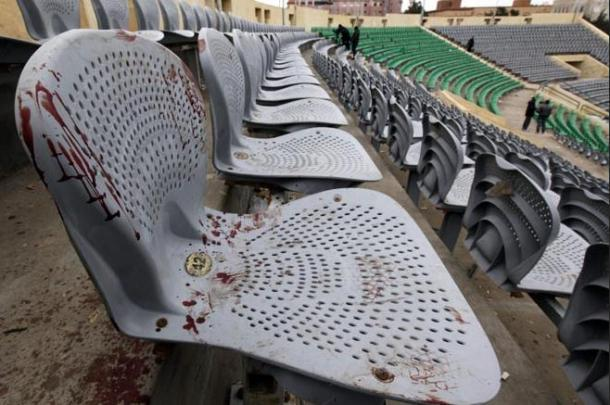 Port Said football stadium