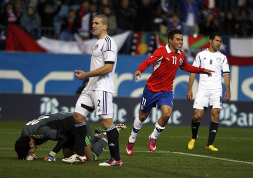 Egypt will take on Chile in a May 30 friendly.