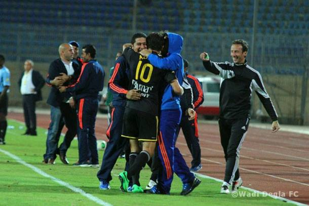 Wadi Degla win