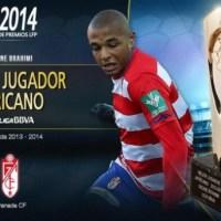 Yacine Brahimi named 2013-14's Best African Footballer in Spain