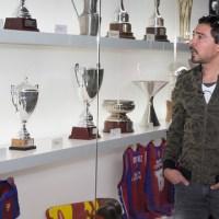 Al Ahly retired midfielder Barakat visits FC Barcelona
