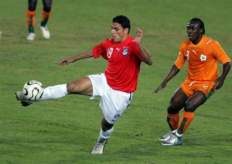 Amr Zaki vs Ivory Coast AFCON  2006