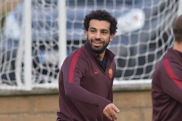 Mohamed Salah Real Madrid Roma UCL
