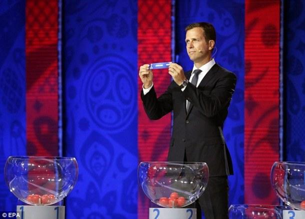 World Cup qualifying group draw