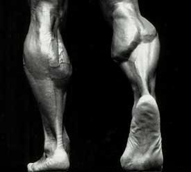 how to grow big calf muscles fast