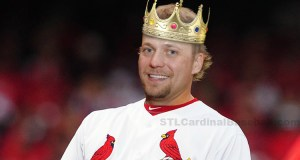 """If Trevor Rosenthal was a king he definitely would have one of the best """"ARMies"""" in St Louis."""