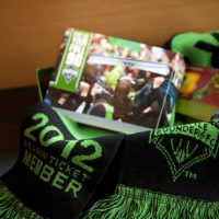 2012 Sounders season ticket package arrives