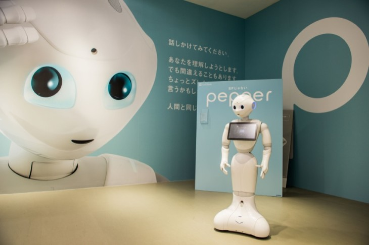 Pepper - Softbank's robot