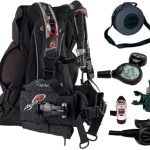 Aeris Travel Scuba Equipment Pro Gear Set, Package