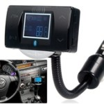 "1.8"" LCD Screen Multifunctional Bluetooth Hands-free Car Kit with Card Reader"