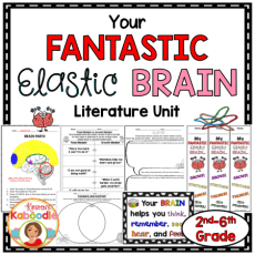 Easy to use, teacher and student friendly growth mindset activities for Your Fantastic Elastic Brain by JoAnn Deak.
