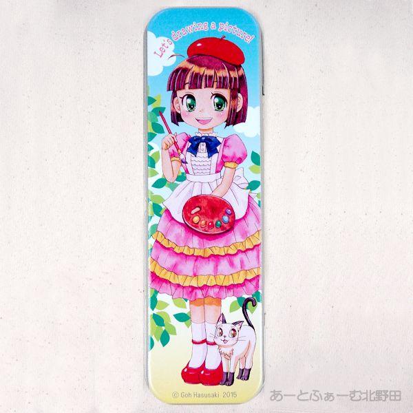 絵美子ちゃん缶ペンケース1
