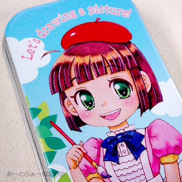 絵美子ちゃん缶ペンケース4