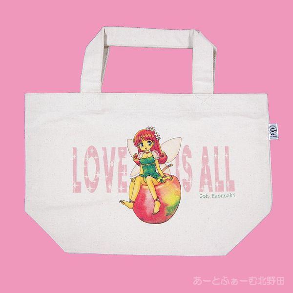 リンゴちゃんトートバッグs1