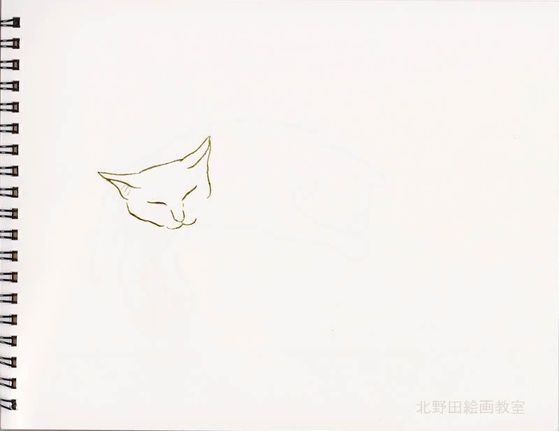 小太郎のペン画8