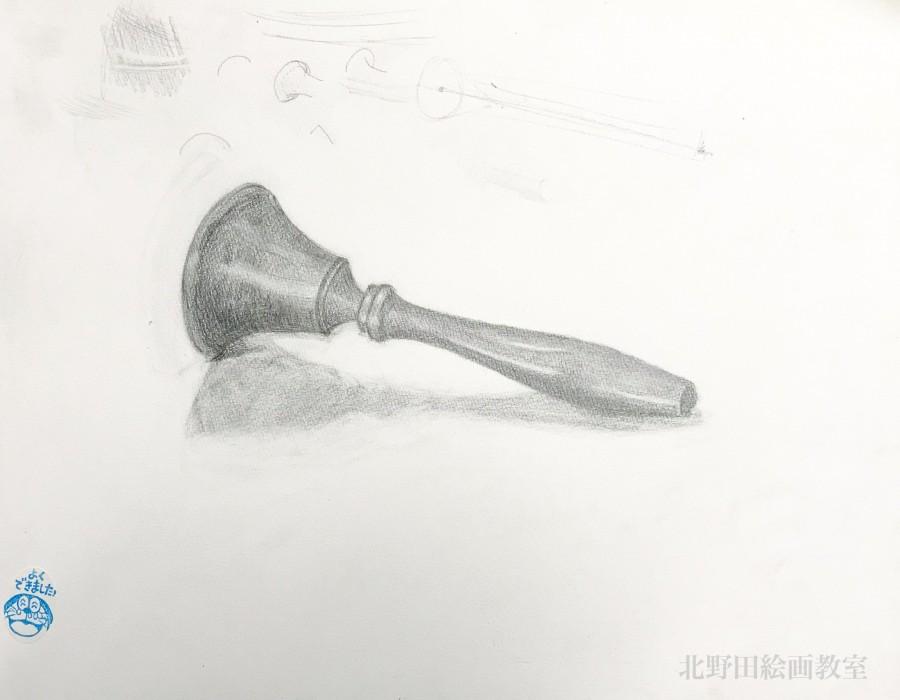 ひとみちゃんの鉛筆デッサン