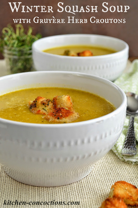up this winter with a creamy soup packed with seasonal winter squash ...
