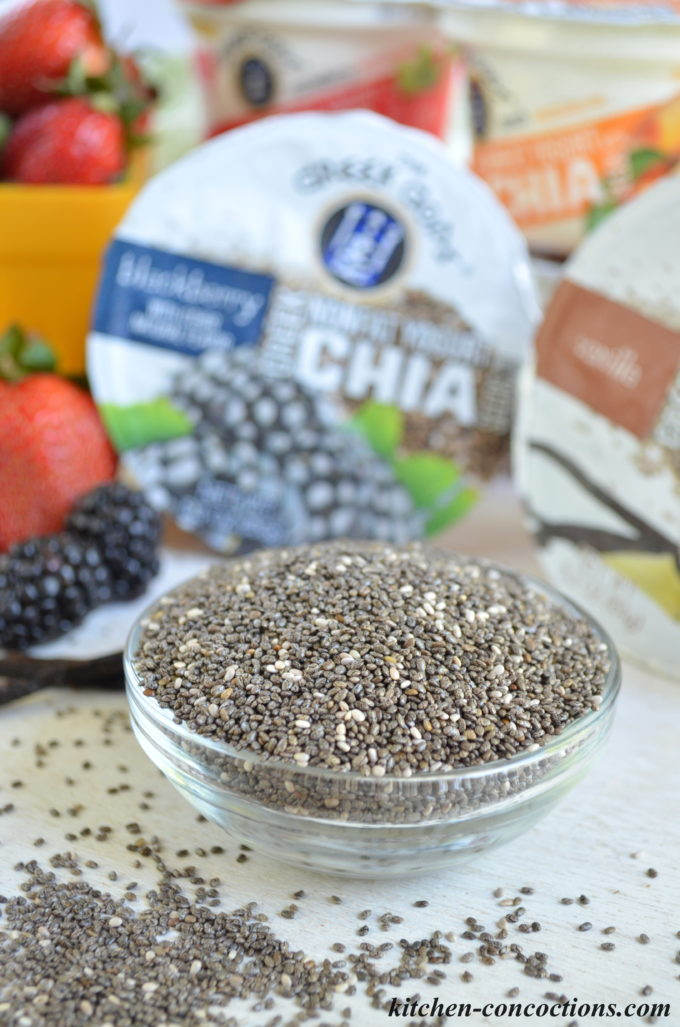 Blackberry Lime Chia Seed Muffins - Kitchen Concoctions