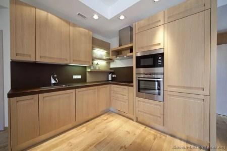 kitchen cabinets modern light wood 003 s28235584