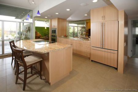 kitchen cabinets modern light wood 004a s11142547 island seating