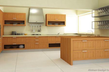 kitchen cabinets modern light wood 033 s1804783 peninsula